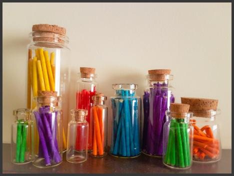 bottles color border